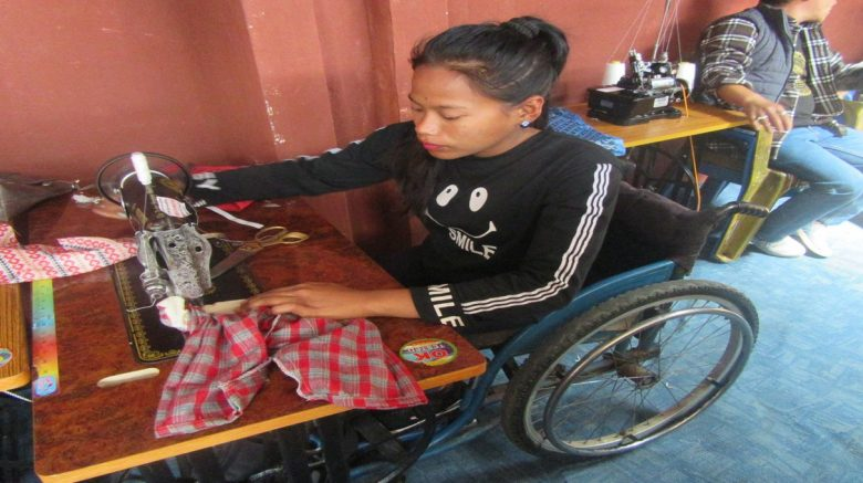 We work in disability livelihood